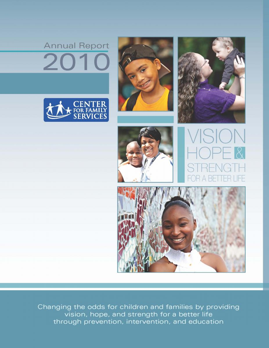 Click here to view or download the 2010 Annual Report