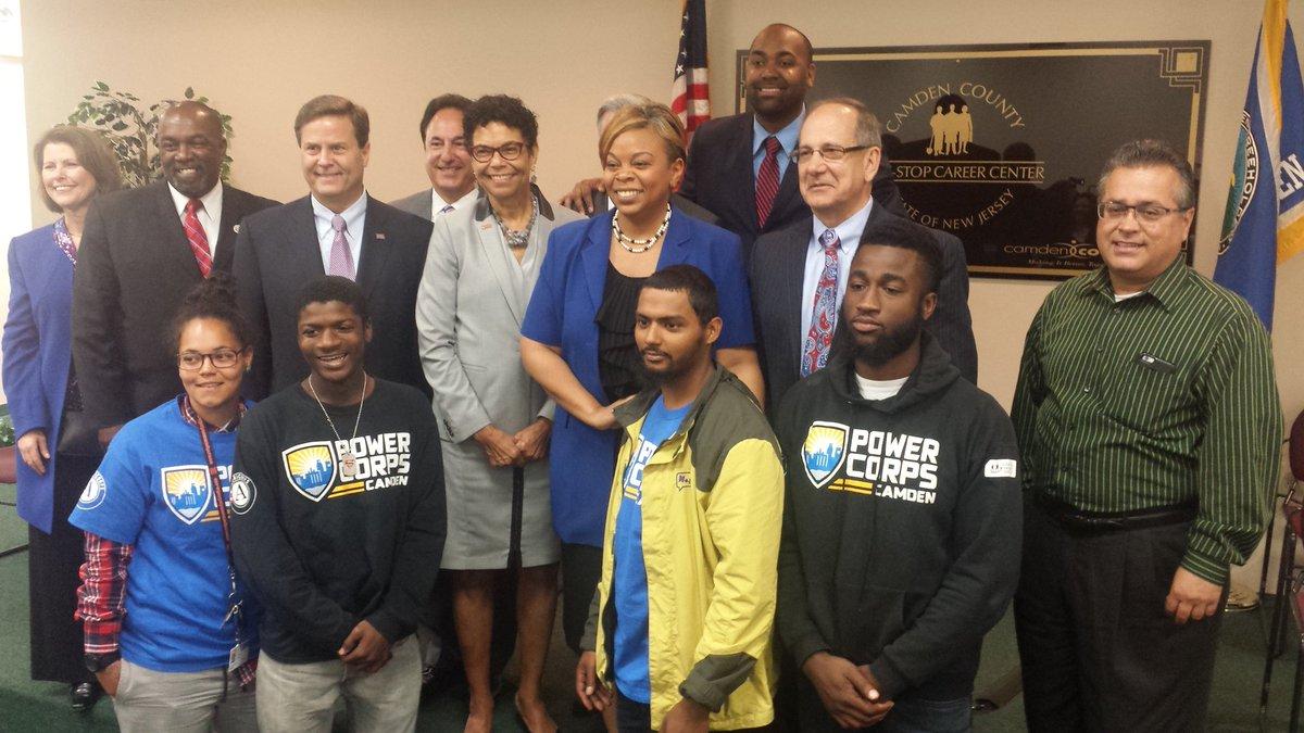 The City of Camden Announces New Initiative, Camden Corps